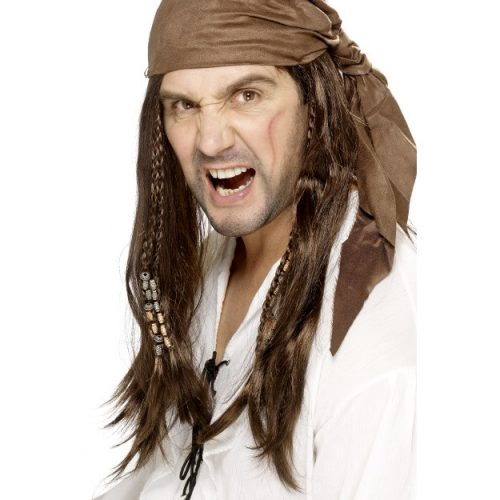 Buccaneer Pirate Wig-0