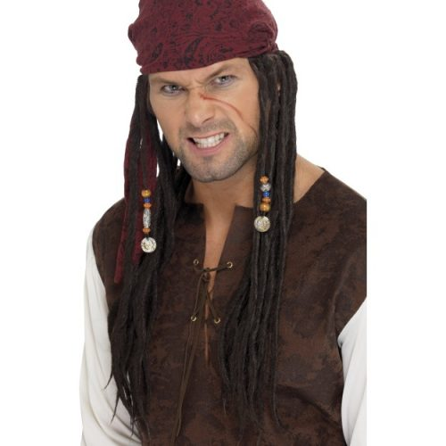 Pirate Wig & Scarf-0