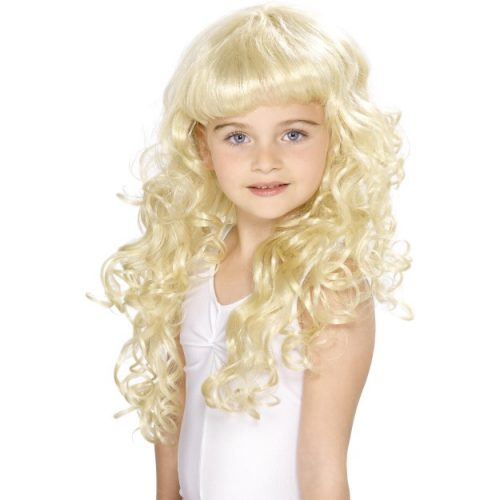 Girl's Princess Wig-0