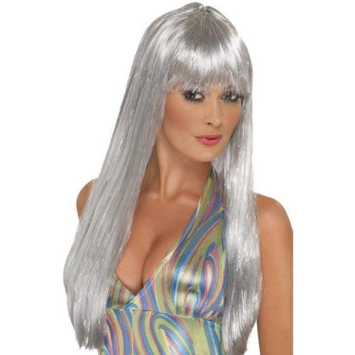 Glitter Disco Wig-0
