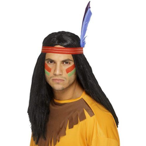 Indian Brave Wig-0