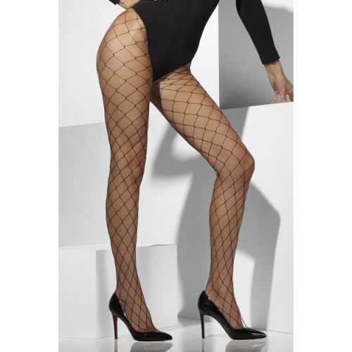 Diamond Net Tights-0