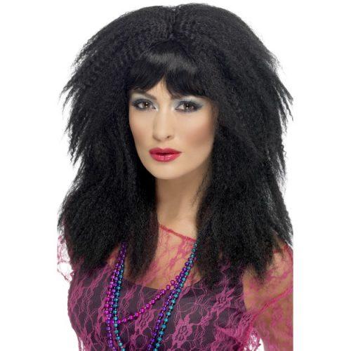 80's Trademark Crimp Wig-0