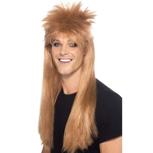80's Rocker Mullet Wig-0