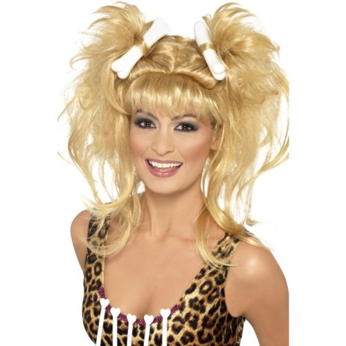 Crazy Cavegirl Bunches Wig-0
