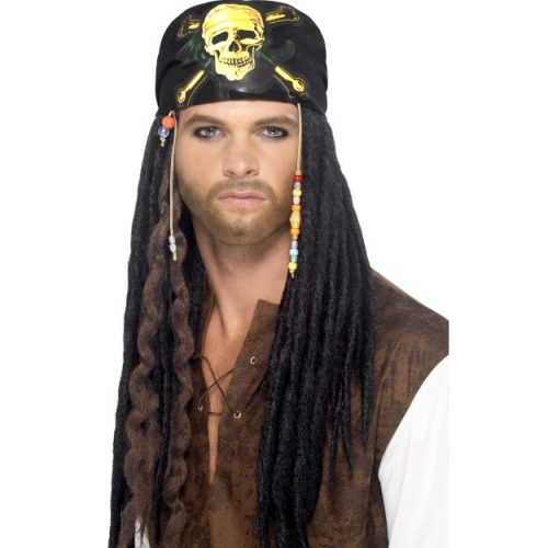 Pirate Dreadlocks Wig-0