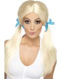 Sassy Schoolgirl Pigtails Wig-261280