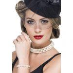 Vintage Faux Pearl Set-0