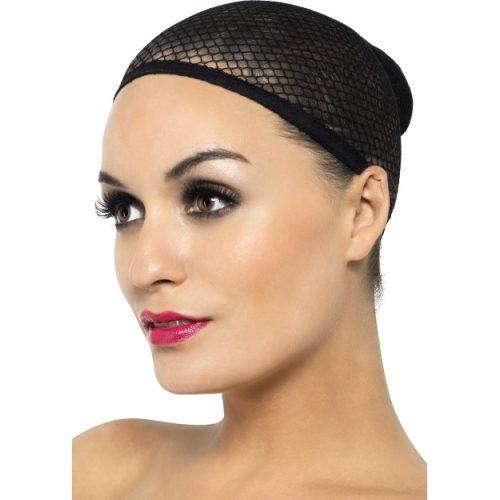 Black Mesh Wig Cap-0