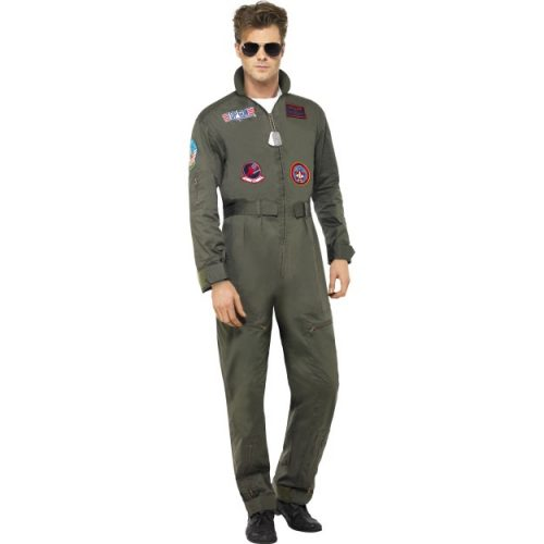 Top Gun Deluxe Male Costume-0