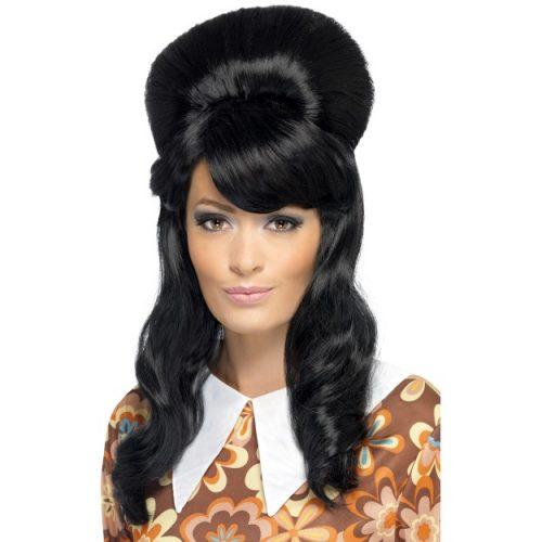 60's Brigitte Bouffant Wig-0