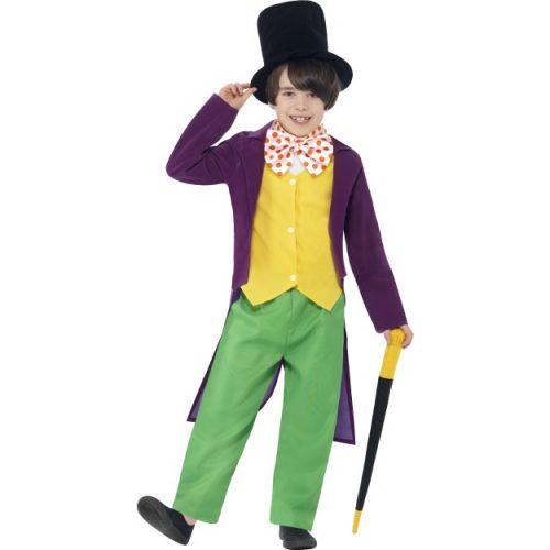 Roald Dahl Willy Wonka Costume-0