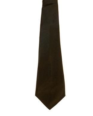 WW5801 Plain black tie -261926