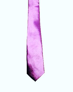 WW5817 Plain Lilac tie -261932