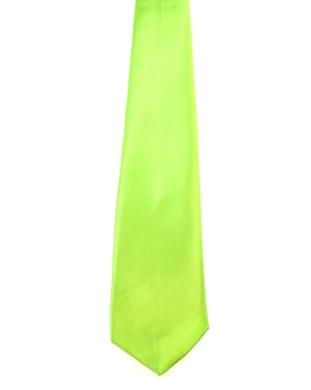 WW5815 Plain lime green tie -261933