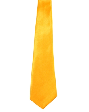 WW5818 Plain flo orange tie -261934