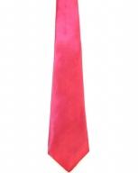 WW5829 Plain fuchia tie -261935