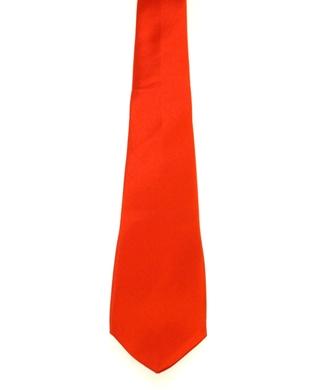 WW5803 Plain red tie -261937