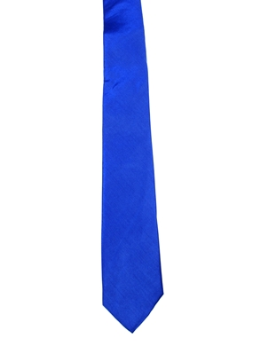 WW5806 Plain royal blue tie -261938