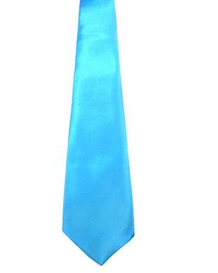 WW5810 Plain turquiose tie -261939