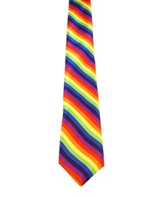 WW5884 Mulitcoloured striped tie -261942