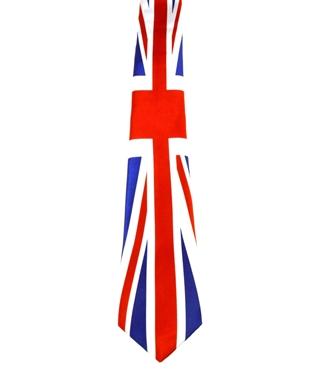 WW5984 Union Jack tie -261943