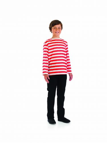 RED AND WHITE STRIPED TOP-262070