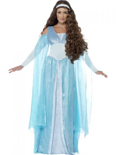 Medieval Maiden Deluxe Costume fancy dress-262133