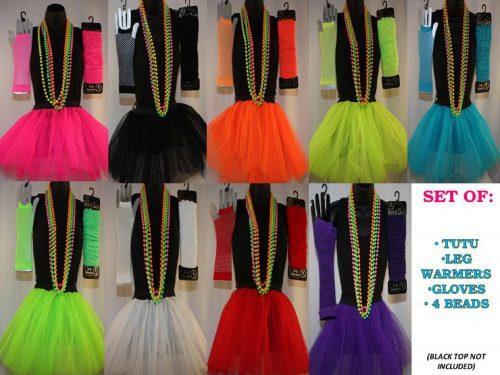 80's Neon Tutu Set -262177