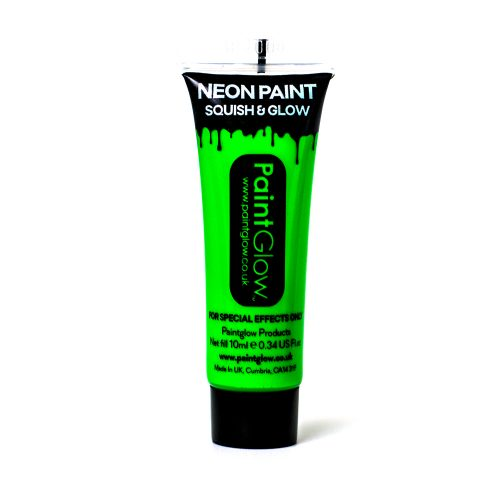Green UV Face and Body Paint 10ml-262200
