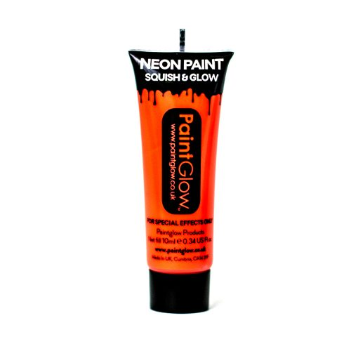 Orange UV Face and Body Paint 10ml-262202