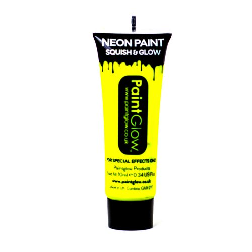 Yellow UV Face and Body Paint 10ml-262204