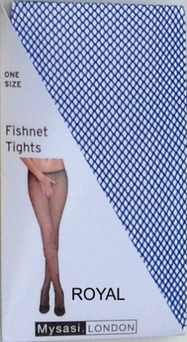 BLUE FISHNET TIGHTS-262322