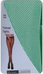 WW1117 EMERALD FISHNET TIGHTS-262307
