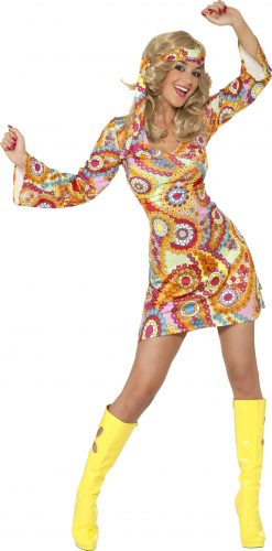 1960s Hippy Costume,